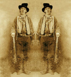Billy kid mirror image